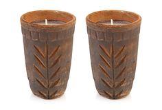 S/2 Diwali Filled Candles on OneKingsLane.com