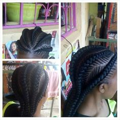 Mohawk Braid Styles, Hair Styles, Cornrows, Braids, Braid Designs, African American Hairstyles, Faux Locs, Dreadlocks, Beauty