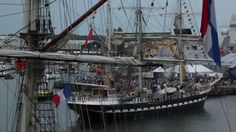 SAIL-In parade - Martine Tromp in opdracht van SAIL Amsterdam 2015