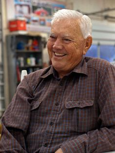 A true NASCAR Legend Junior Johnson ~ Ask him about running Moonshine. How Nascar began...