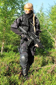 Female Universal Soldier STOCK I by PhelanDavion on deviantART