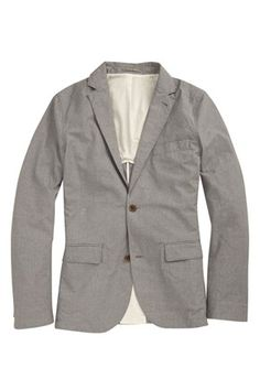 Peached Cotton Gingham Blazer - Mens Jackets & Coats - French Connection Usa