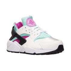 Women's Nike Air Huarache Running Shoes ($100) ❤ liked on Polyvore featuring shoes, athletic shoes, sneakers, nike, running shoes, athletic running shoes, flexible shoes and leather footwear