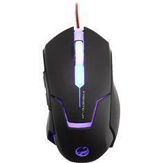 Mouse Gamer USB 4000DPI Frenetic Jr Preto TEAM SCORPION - 51613