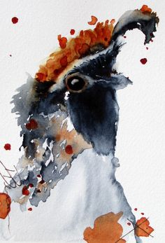 | Quail Watercolor Original Bird Art by RedbirdCottageArt on Etsy