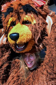 | Flickr Bear Costume, Fursuit, Mascot Costumes, Round Sunglasses, Dreadlocks, Cosplay, Hair Styles, Beauty, Suits