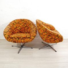 Cocktail Chairs, 1970s, Set of 2 for sale at Pamono
