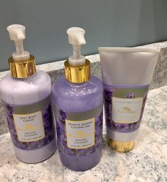 Camille Beckman English #Lavender creams and bath soap from my 2016 holiday gift guide.