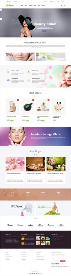Pav Shopspa is responsive #Opencart theme designed for #Spa and #Beauty salon website with 4 awesome homepage layouts download now➩ https://themeforest.net/item/pav-shopspa-responsive-opencart-theme-for-spa-beauty-salon/14629624?ref=Datasata