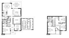 Planos de casas de dos pisos modernas | Construye Hogar