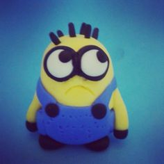 Oh yeah i made this #polymerclay #Minion