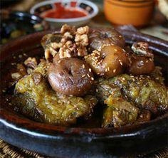 cuisine marocaine - Recette marocaine du tajine aux figues