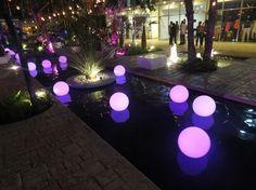 Esferas led Seleccto DJ Para tu boda en Cancún