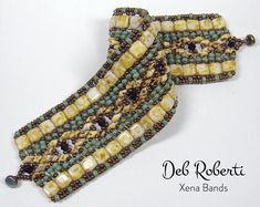 Xena Bands beaded pattern tutorial by Deb Roberti