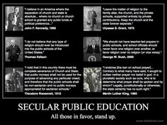 Please read, if you believe in secular public education, as did our founding fathers