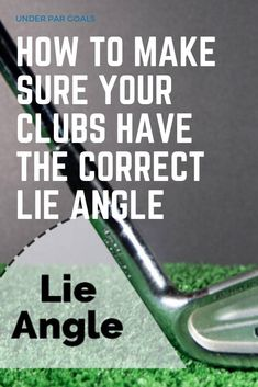 Having a lie angle that is too flat or too upright can prevent you from ever hitting the ball straight. This guide will help you diagnose and avoid this common problem. Golf Books, Volleyball Tips, Golf Putting Tips, Golf Instruction, Golf Tips For Beginners, Perfect Golf, Golf Lessons, Play Golf, Golf Clubs