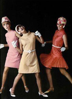 1966 Laroche #vintage #1960s #fashion #mod