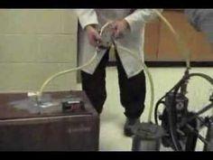 Pedal-Powered (Vacuum) Zeolite Refrigerator