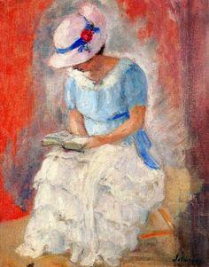 Girl reading, n.d. - Henri Lebasque
