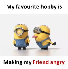 Funny Minion Pictures, Funny Minion Memes, Funny School Jokes, Some Funny Jokes, Funny Facts, Funny College, Best Friend Quotes Funny, Besties Quotes, Cute Funny Quotes