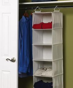 Solutions - 6-Shelf Hanging Organizer