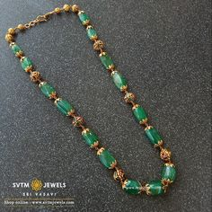 Set in yellow gold beads mala along with nakas beads Antique Jewellery Designs, Gold Earrings Designs, Beaded Jewelry Designs, Gold Jewellery Design, Necklace Designs, Choker Necklace Online, Indian Jewelry Sets, Gold Jewelry Simple, Cross Necklaces