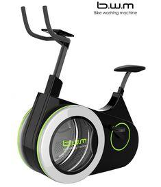 Met de 'wasmachine-fiets' combineer je het huishouden met sporten! - Roomed