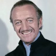 David Niven, British actor , died on this day July 29, 1983. His films included Around the World in 80 days, The Phantom in the Pink Panther, A Matter of Life and Death amongst others. by B. Lowe