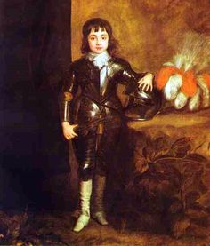 Prince Of Wales, Future Charles II, King Of England - Anthony van Dyck