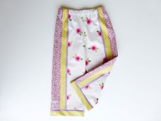 Liberty furnishing fabric trousers/pants, age 4 years.  Matching skirt also available.