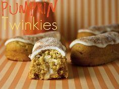 Homemade Pumpkin Twinkies Recipe