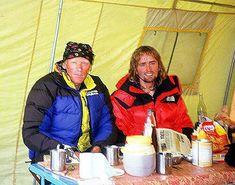 Anatoli Boukreev and spanish mountaineer Inaki Ochoa