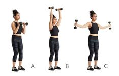This Workout Will Chisel Your Arms And Abs At The Same Time - Dumbbell - Ideas of Dumbbell - dumbbell press iron cross Kettlebell Cardio, Kettlebell Training, Kickboxing, Dumbbell Workout, Tabata, Fitness Senior, Funny Fitness, Fitness Fun, Group Fitness
