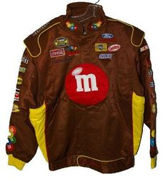 M & M's Authentic Nascar Firesuit Jacket Motorsports Authentic Xl by Motorsport Authentics. $69.99. This is a special firesuit type jacket. this is an extremely high quality quilted jacket that had an original retail of 199.00. this jacket is brand new! and never worn. part of a warehouse find in their original cartons. this is one of the nicest jackets you will ever finds for a race ran. the jacket features snaps that are hiiden by the fron design of the jacket. these jackets ...