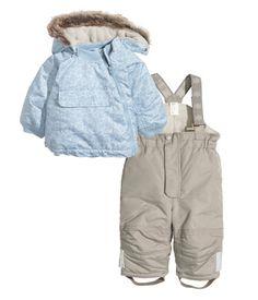 Wattierte Jacke und Hose | Hellblau | Kids | H&M DE