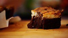 de beste brownie ever! ook heerlijk zonder roomkaastopping
