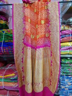 Bandhani Saree, Saris, Indian Wear, Indian Beauty, Lily Pulitzer, Weddings, Prints, How To Wear, Dresses