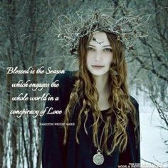 """""""Blessed is the Season which engages the whole world in a conspiracy of Love."""" ~ Hamilton Wright Mabie, The Old Crones Corner, https://www.facebook.com/TheOldCronesCorner"""