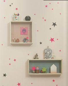Decorar pared habitación niños