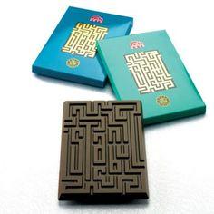 tablettes de chocolat istanbul 2010, bronze pentaward 2010. Les séries limitées sont souvent l'occasion pour les marques de se faire remarquer.  C'est le cas ici avec l'enseigne Kahve Dünyasi (l'équivalent de Starbucks en Turquie) qui s'est associée à Istanbul capitale de la culture 2010 pour créer ces tablettes de chocolat graphiques.
