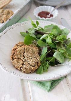 Nem acredito que é saudável!: Hambúrgueres vegan de cogumelos