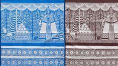 Advent calendar with hidden animals in the forest, design by Carmen Von Aufschnaiter Islamic Patterns, Ethnic Patterns, Japanese Patterns, Interactive Design, Abstract Pattern, Paper Goods, Textile Design, Handicraft, Screen Printing