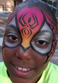 Spidergirl  Linda Schrenk/Amazing Face Painting by Linda, Jacksonville FL