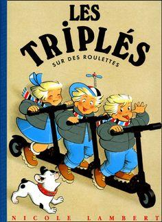 Les triples  - for more inspiration visit http://pinterest.com/franpestel/boards/