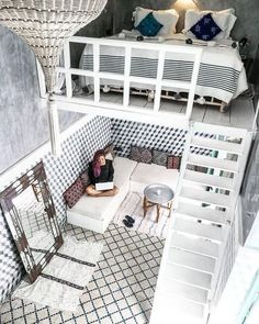 14 Impressive Tiny House Design Ideas That Maximize Function and Style Kleines Haus Design 15 Cute Bedroom Ideas, Cute Room Decor, Room Ideas Bedroom, Girl Bedroom Designs, Small Room Bedroom, Awesome Bedrooms, Girls Bedroom, Teen Bedrooms, Small Bedrooms