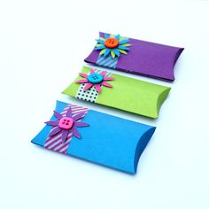 pillow gift boxes || Love it!