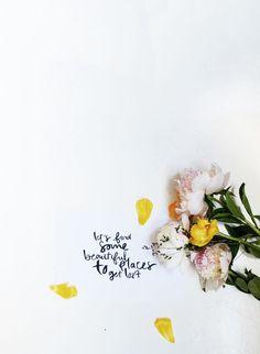 Bloesem Living | Modern Handwriting