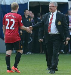 Two of Manchester United greats.