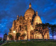 Basilique du Sacré-Coeur de Montmartre. Paris, France