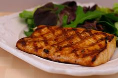 Kalyn's Kitchen: Soy-Grilled Mahi Mahi Recipe with Korean Dipping Sauce